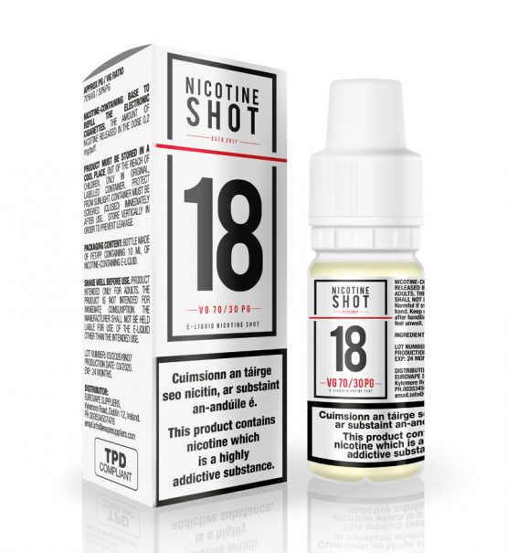 Nicotine Shot e liquid